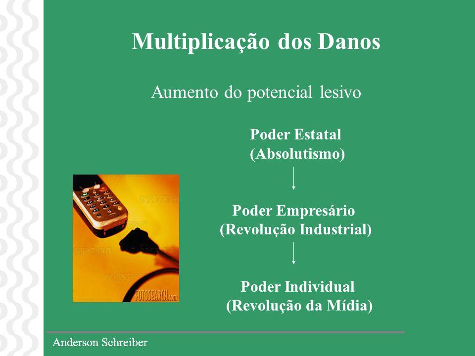 Multiplicação dos Danos Aumento do potencial lesivo Poder Estatal (Absolutismo) Poder Empresário (Revolução Industrial) Poder Individual (Revolução da