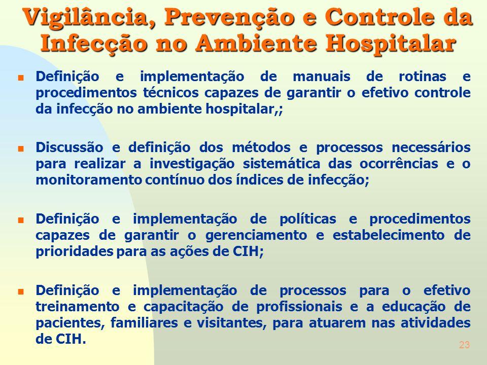 22 Gerência de Informações – GI n Definição e implementação de políticas e procedimentos capazes de configurar o modelo e o formato do sistema de info