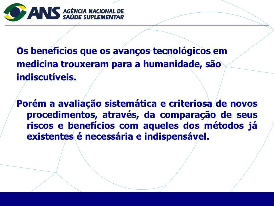 Os benefícios que os avanços tecnológicos em medicina trouxeram para a humanidade, são indiscutíveis.