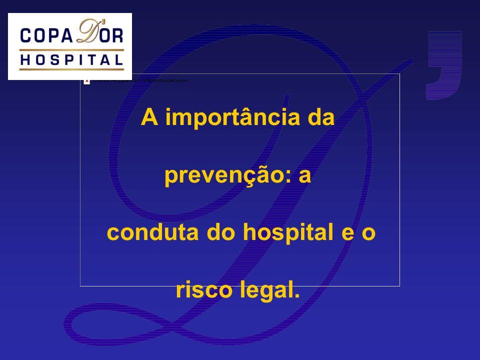 A importância da prevenção: a conduta do hospital e o risco legal.