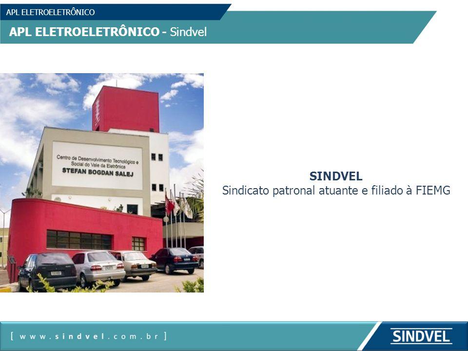 APL ELETROELETRÔNICO APL ELETROELETRÔNICO - Sindvel SINDVEL Sindicato patronal atuante e filiado à FIEMG