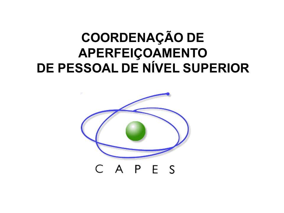 AVALIAÇÃO DA PÓS-GRADUAÇÃO 2001-2003 DESEMPENHO DOS CURSOS/ÁREAS