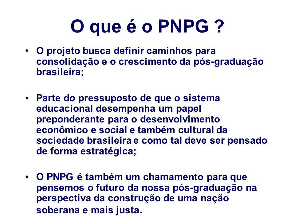 O que é o PNPG .