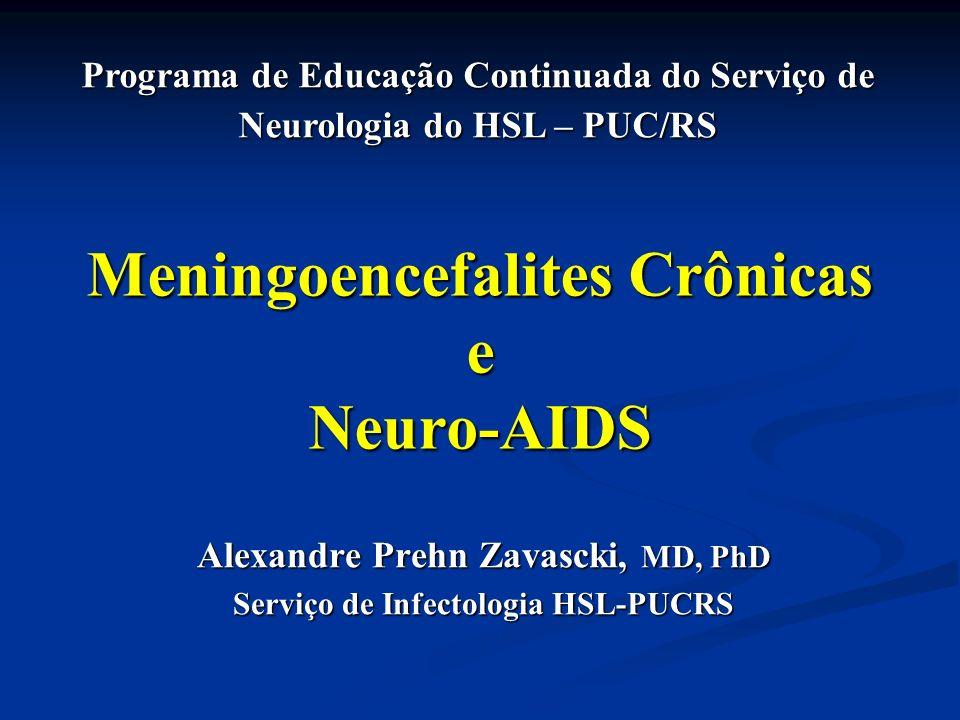 Diagnóstico diferencial Diagnóstico diferencial drogas drogas início abrupto início abrupto melhora com suspensão (2-3 semanas) melhora com suspensão (2-3 semanas) Tratamento Tratamento ARV ARV manejo de dor neuropática manejo de dor neuropática Fase avançada / AIDS