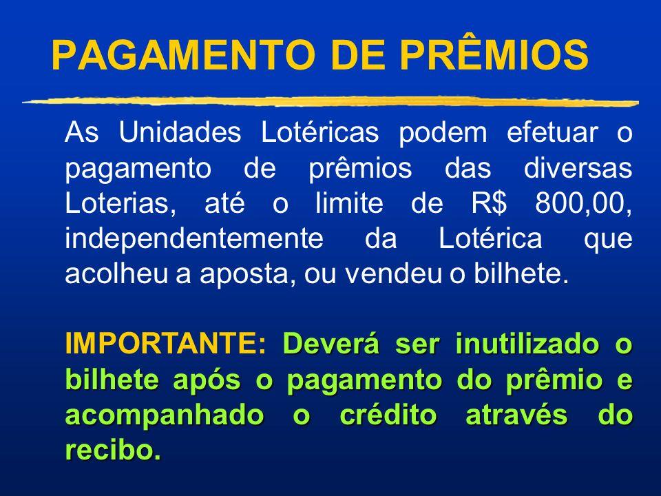 RESULTADOS DAS LOTERIAS Você obtém os resultados na sua máquina ON-LINE ou: Através da Internet: n Home Page da CAIXA 4 http://www.caixa.gov.br n Sist
