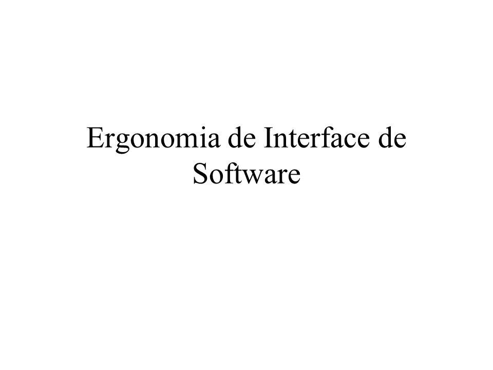 Presteza –Projete um sistema que conduza o usuário na interação.