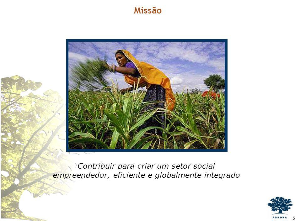 4 A Ashoka Cidadania Econômica para Todos e Cadeias Híbridas de Valor Cadeias Híbridas de Valor - Casos Agenda