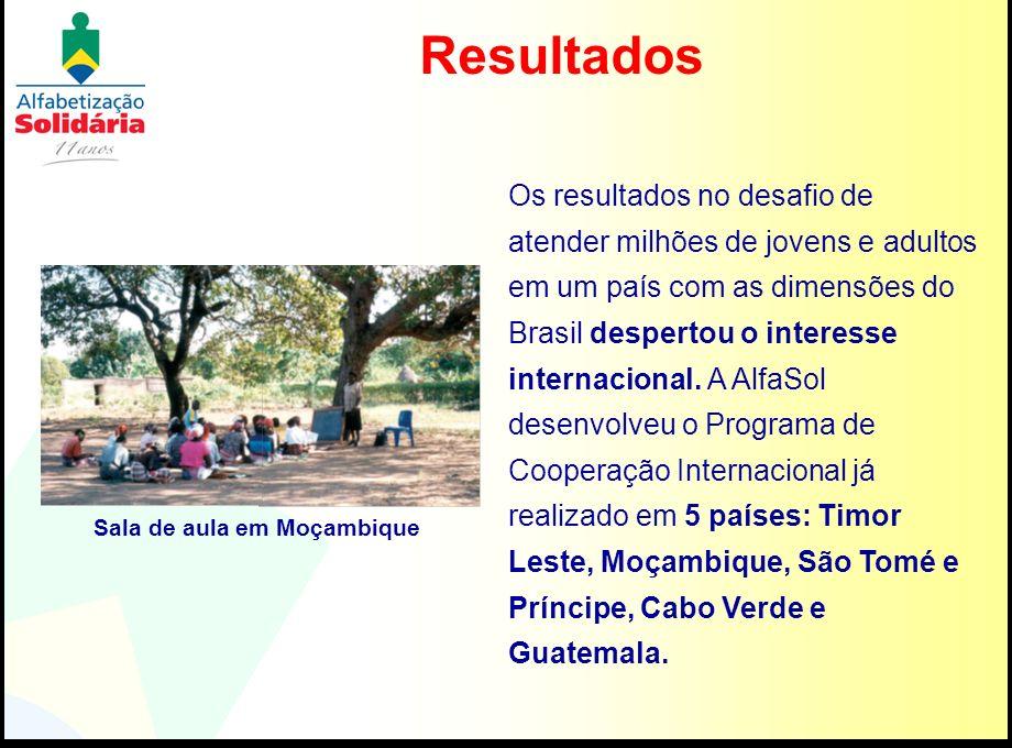 Os resultados no desafio de atender milhões de jovens e adultos em um país com as dimensões do Brasil despertou o interesse internacional. A AlfaSol d
