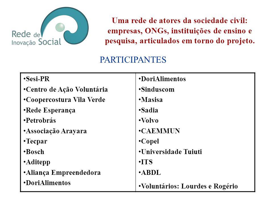 Lançamento Curitiba, 05 de Julho Durante a 6ª Mostra de Ação Voluntária