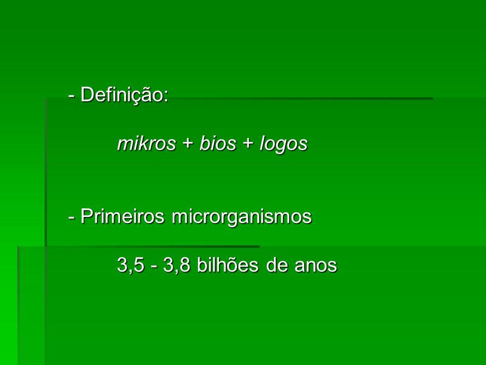 4 O que são microrganismos.