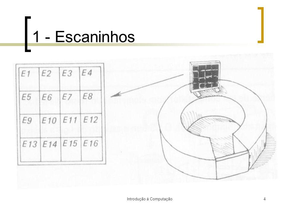 Introdução à Computação4 1 - Escaninhos