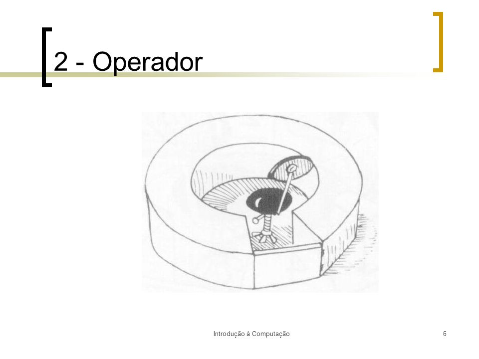 Introdução à Computação6 2 - Operador