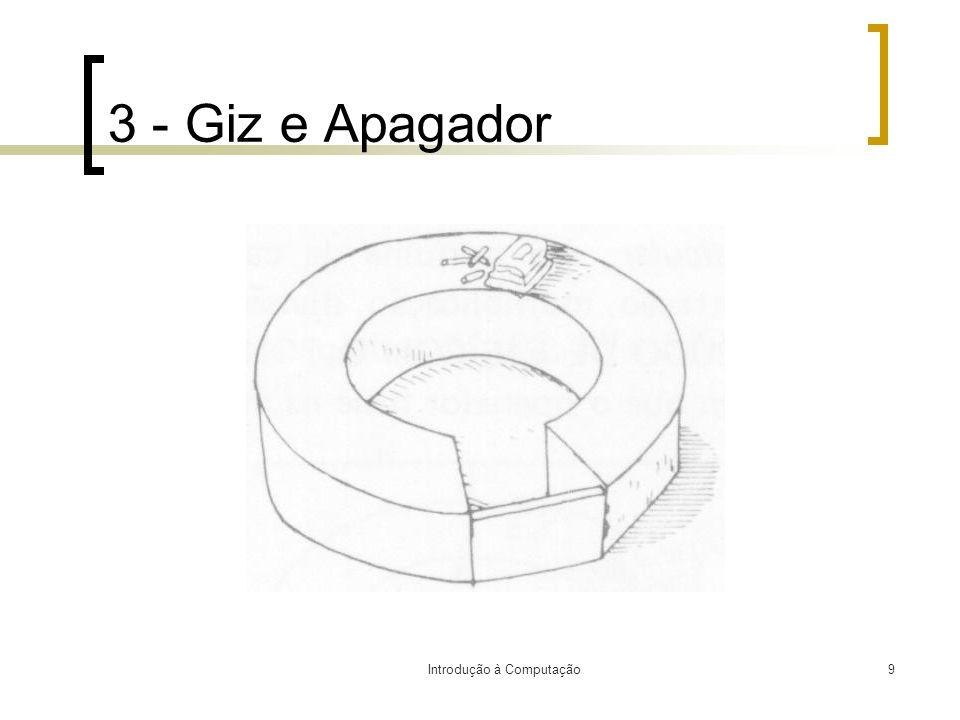 Introdução à Computação9 3 - Giz e Apagador