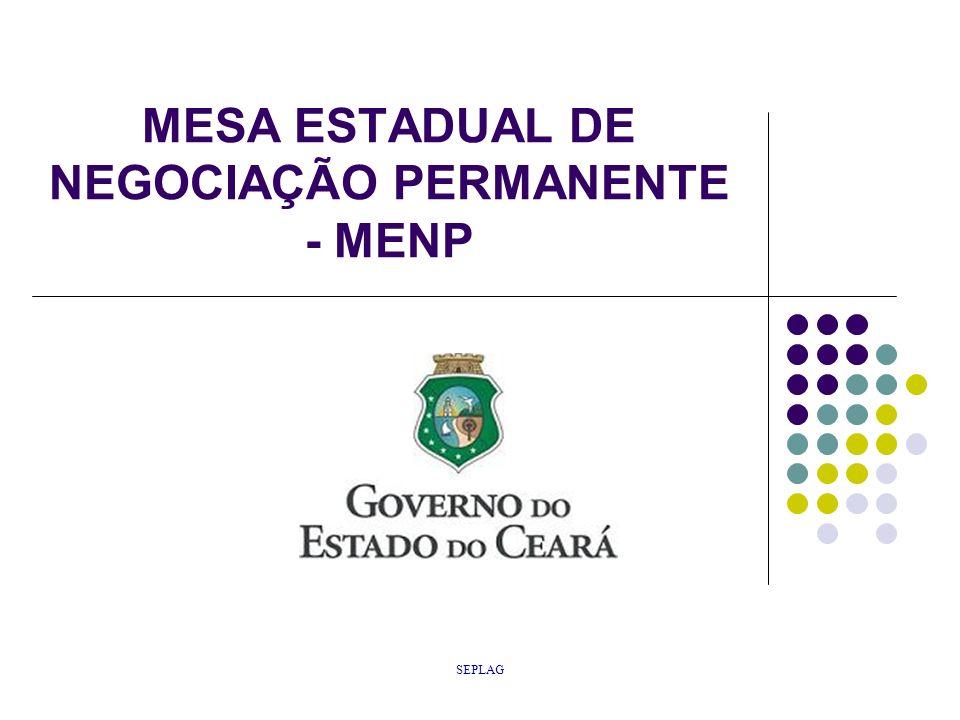 SEPLAG MESA ESTADUAL DE NEGOCIAÇÃO PERMANENTE - MENP