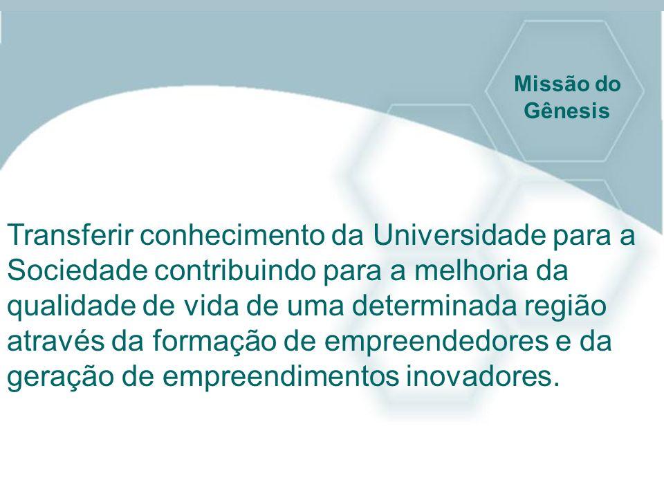 Transferir conhecimento da Universidade para a Sociedade contribuindo para a melhoria da qualidade de vida de uma determinada região através da formaç