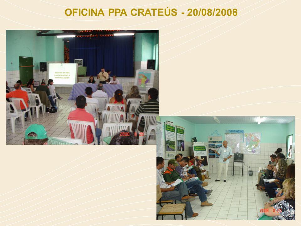 OFICINA PPA CRATEÚS - 20/08/2008