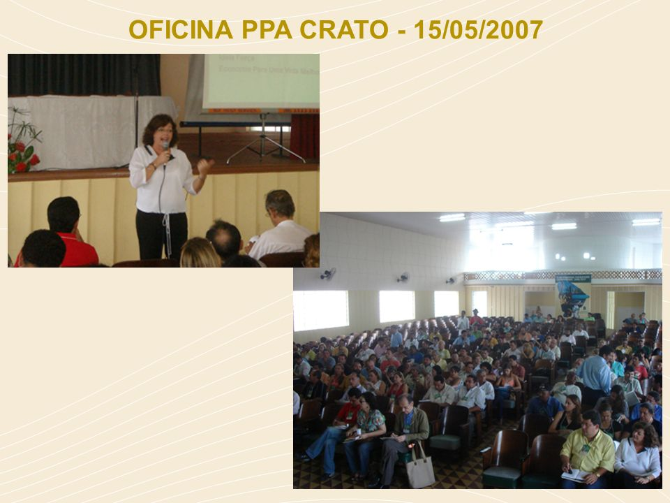 OFICINA PPA CRATO - 15/05/2007
