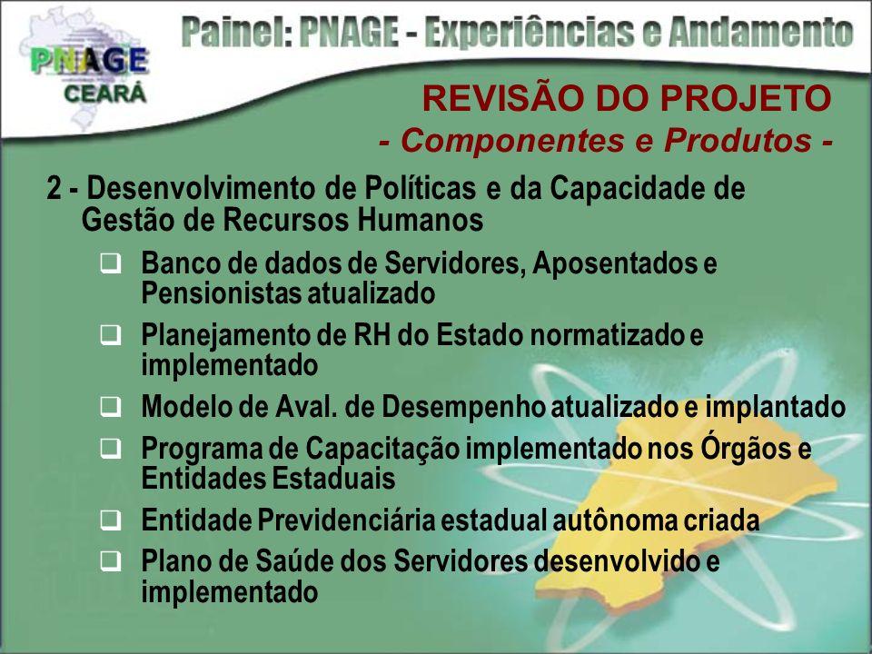 2 - Desenvolvimento de Políticas e da Capacidade de Gestão de Recursos Humanos Banco de dados de Servidores, Aposentados e Pensionistas atualizado Pla