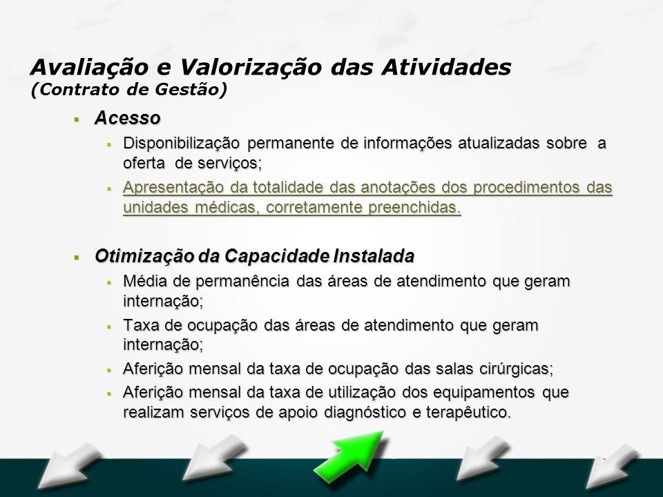 Hospital Geral Dr. Waldemar Alcântara Acesso Acesso Disponibilização permanente de informações atualizadas sobre a oferta de serviços; Disponibilizaçã