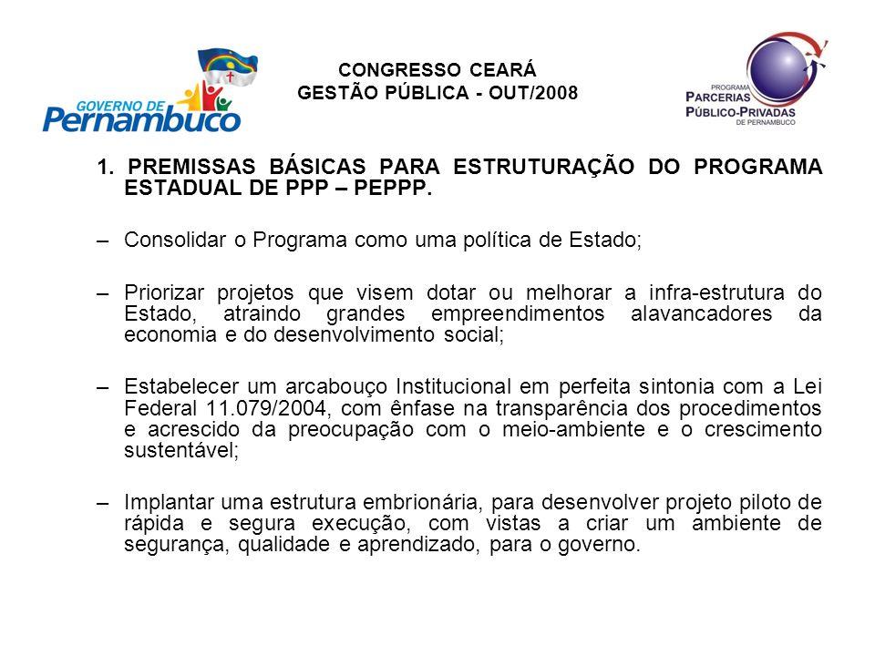 CONGRESSO CEARÁ GESTÃO PÚBLICA - OUT/2008 2ª.