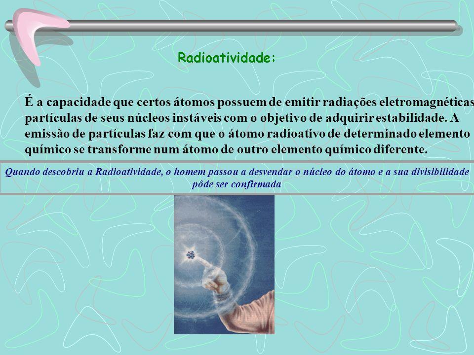 Radioatividade A descoberta dos raios X A descoberta dos raios catódicos e os trabalhos posteriores de Crookes despertaram um grande nº de físicos no