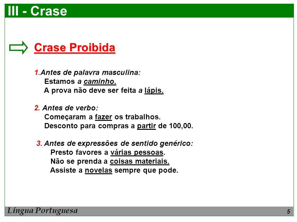 6 III - Crase 4.