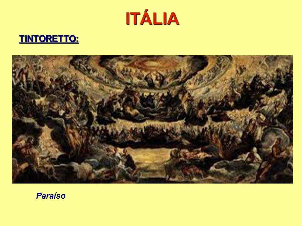 ITÁLIA Paraíso TINTORETTO: