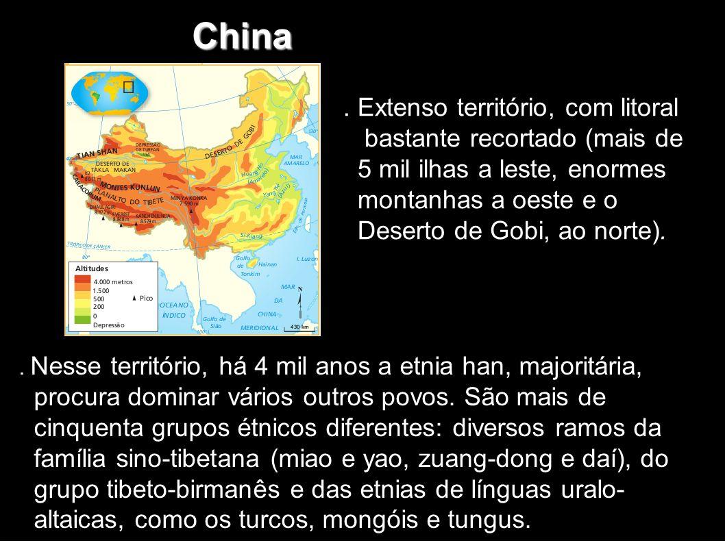 Origens Muralha da China 5 000 aC Chamavam-se império do meio