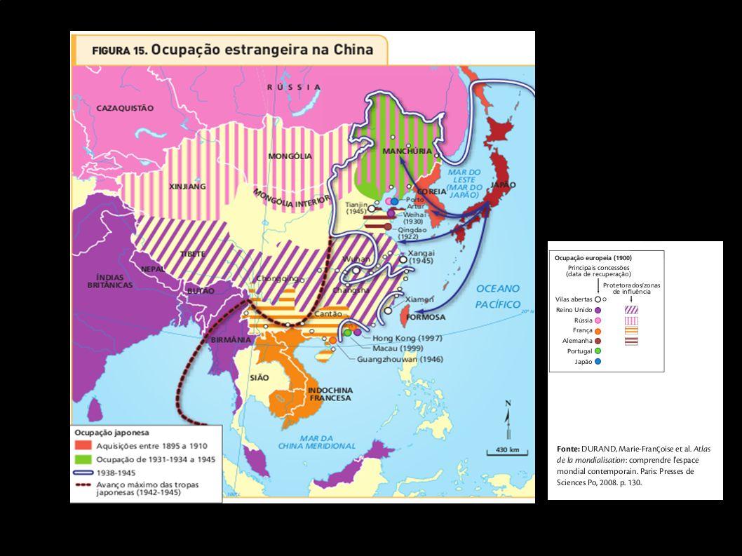 Regiões da China – PIB per capita China – empresas estrangeiras