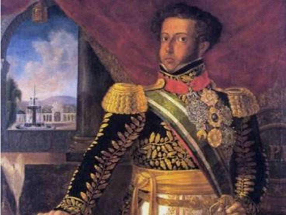 D. Pedro I, por volta do mesmo período da Constituinte de 1823.