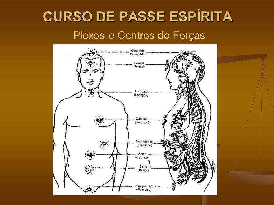 CURSO DE PASSE ESPÍRITA CURSO DE PASSE ESPÍRITA Plexos e Centros de Forças