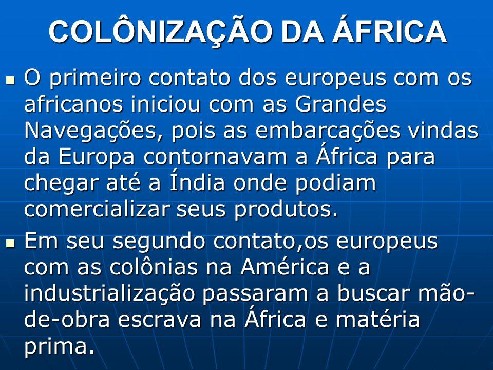 As Duas Áfricas Esse grande território, habitado por mais de um bilhão de pessoas, apresenta grande diversidade física, étnica, cultural e econômica.