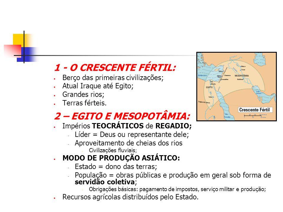 A MESOPOTÂMIA: Terra entre rios – Tigre e Eufrates; Atual Iraque; Região fértil e de fácil acesso.