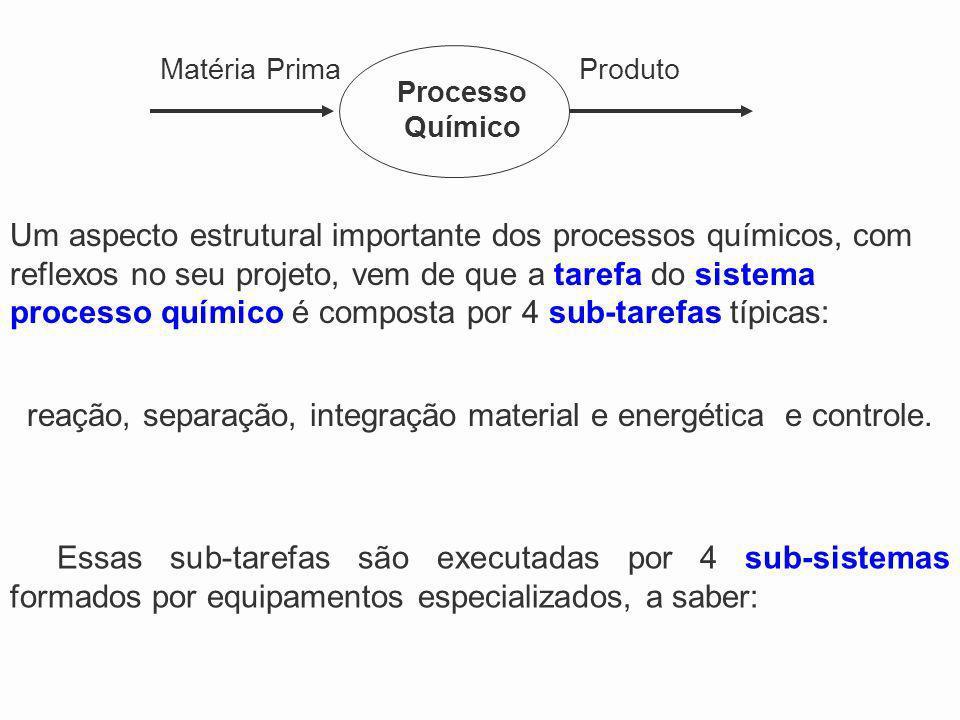 Essas sub-tarefas são executadas por 4 sub-sistemas formados por equipamentos especializados, a saber: Um aspecto estrutural importante dos processos