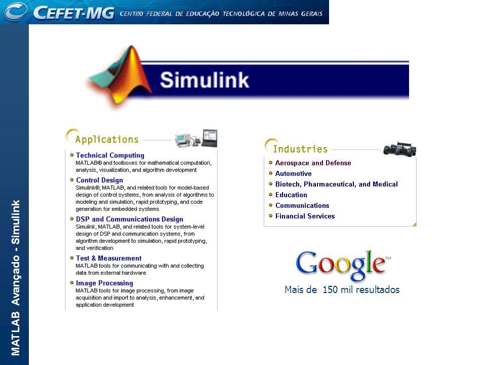 MATLAB Avançado - Simulink Configuração do bloco Product: Número de termos da multiplicação.