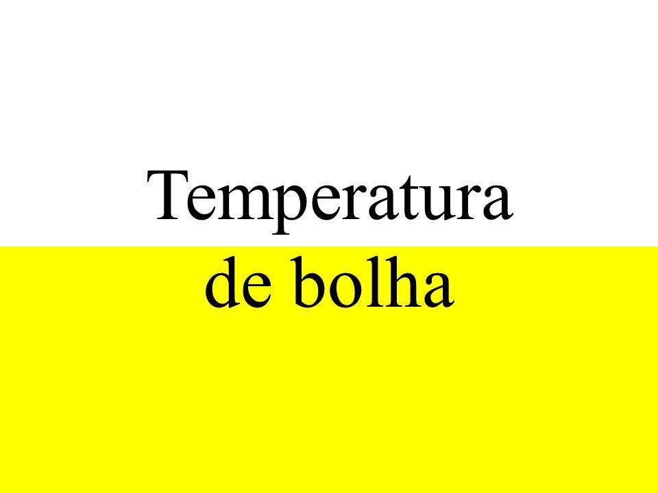 Temperatura de bolha