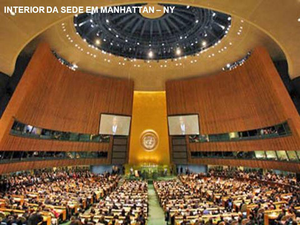 INTERIOR DA SEDE EM MANHATTAN – NY