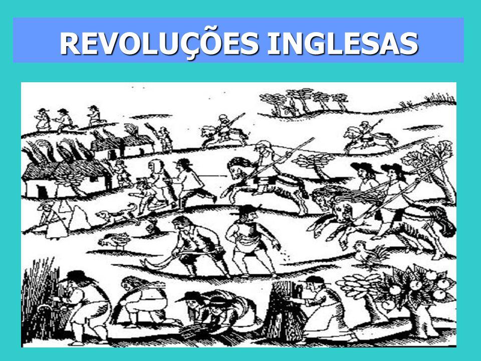 CARLOS II: A restauração ocorre por medo de revoltas no meio popular; Rei tem que garantir anistia e posse das terras confiscadas Atritos com o parlamento 2 partidos políticos os contra e a favor do rei