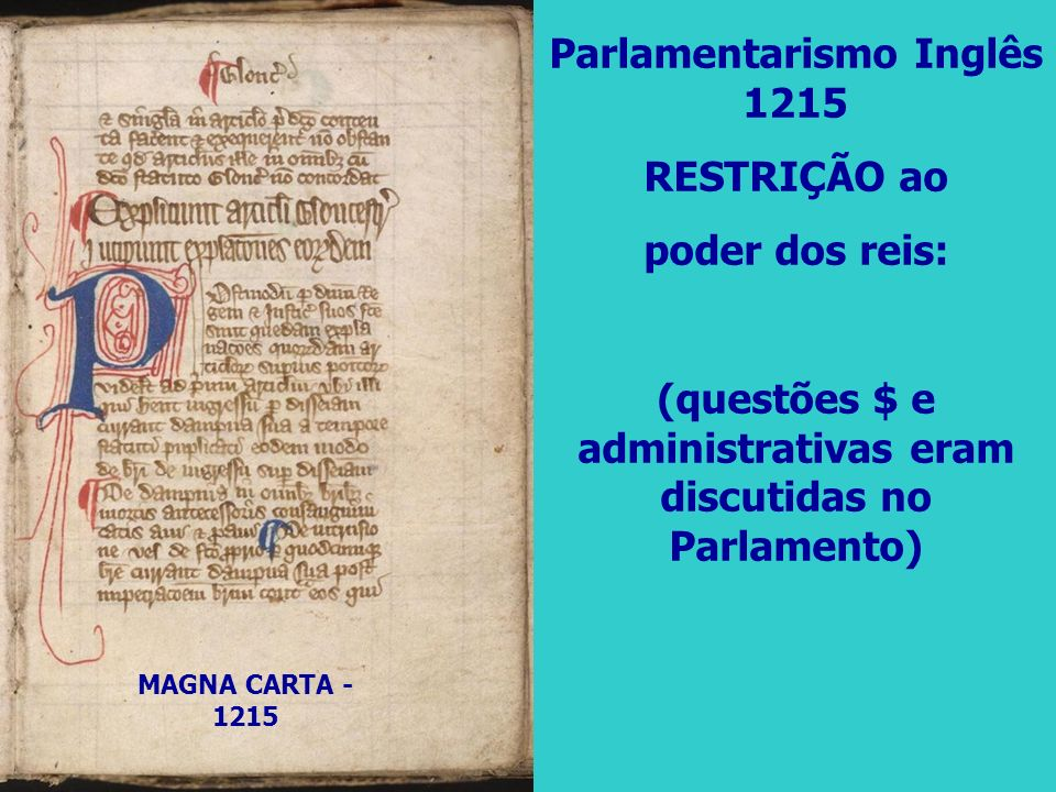 Guilherme III Assume o poder com a Revolução Gloriosa; Poderes limitados ao máximo pelo parlamento