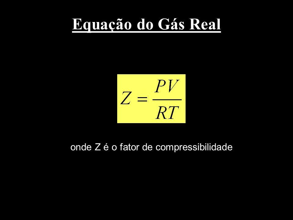 Teoria de van Laar (9) Etapa 2 Mistura isotérmica de gases a baixa pressão. (10)