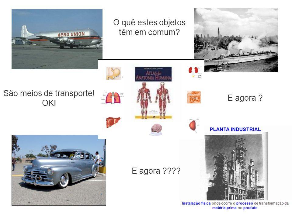 São meios de transporte! OK! E agora ? E agora ???? O quê estes objetos têm em comum?