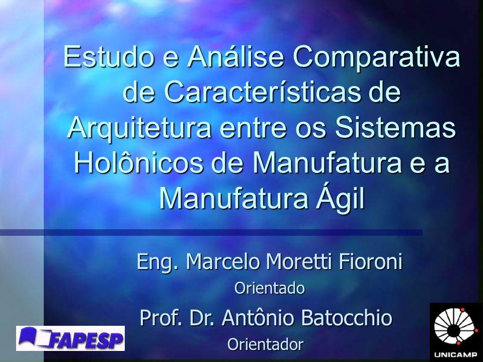 Estudo e Análise Comparativa de Características de Arquitetura entre os Sistemas Holônicos de Manufatura e a Manufatura Ágil Eng. Marcelo Moretti Fior
