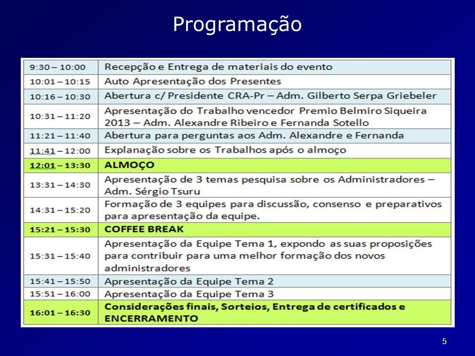 16 Formação *FormaçãoBásica Contabilidade Geral Análise de Demonstrativos Financeiros Estrutura e Análise de Custos Economia Filosofia Direito Público e Privado Sociologia Aplicada à Administração Português Instrumental
