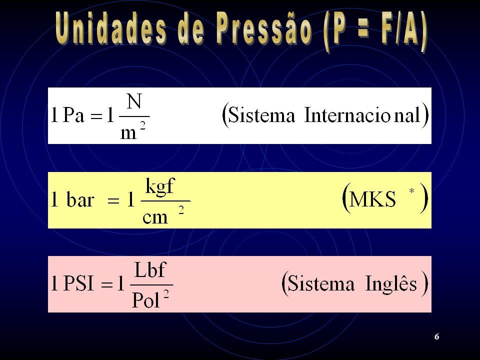 27 Com este comprimento total de tubulação (380 m), o consumo de ar, a queda de pressão e a pressão de trabalho, pode-se determinar, no monograma 1, o diâmetro real necessário.