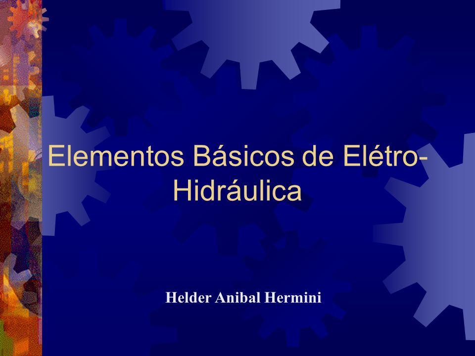 Elementos Básicos de Elétro- Hidráulica Helder Anibal Hermini
