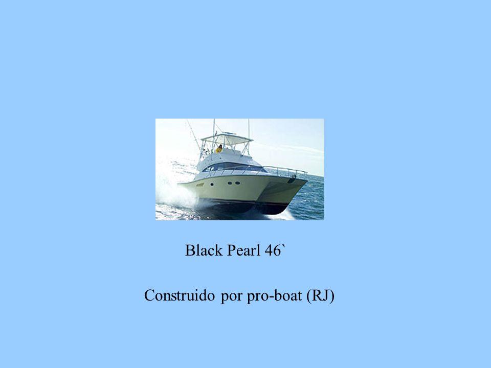 Black Pearl 46` Construido por pro-boat (RJ)