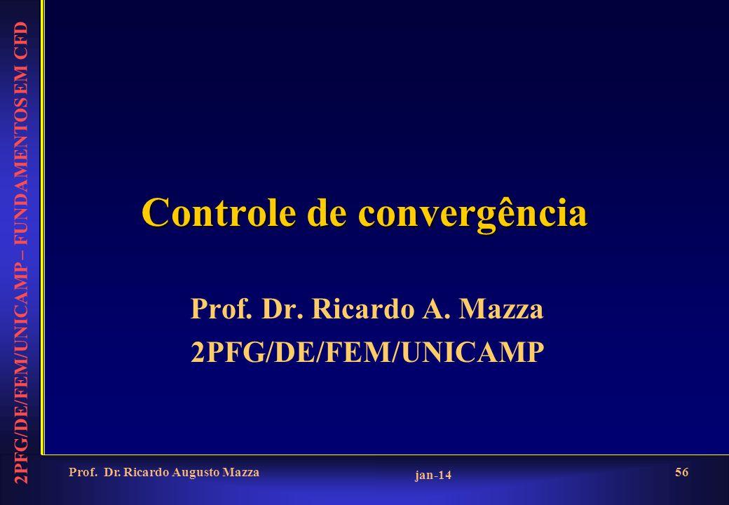 2PFG/DE/FEM/UNICAMP – FUNDAMENTOS EM CFD jan-14 Prof.