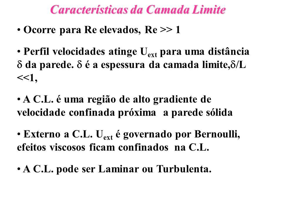 Características da Camada Limite N.