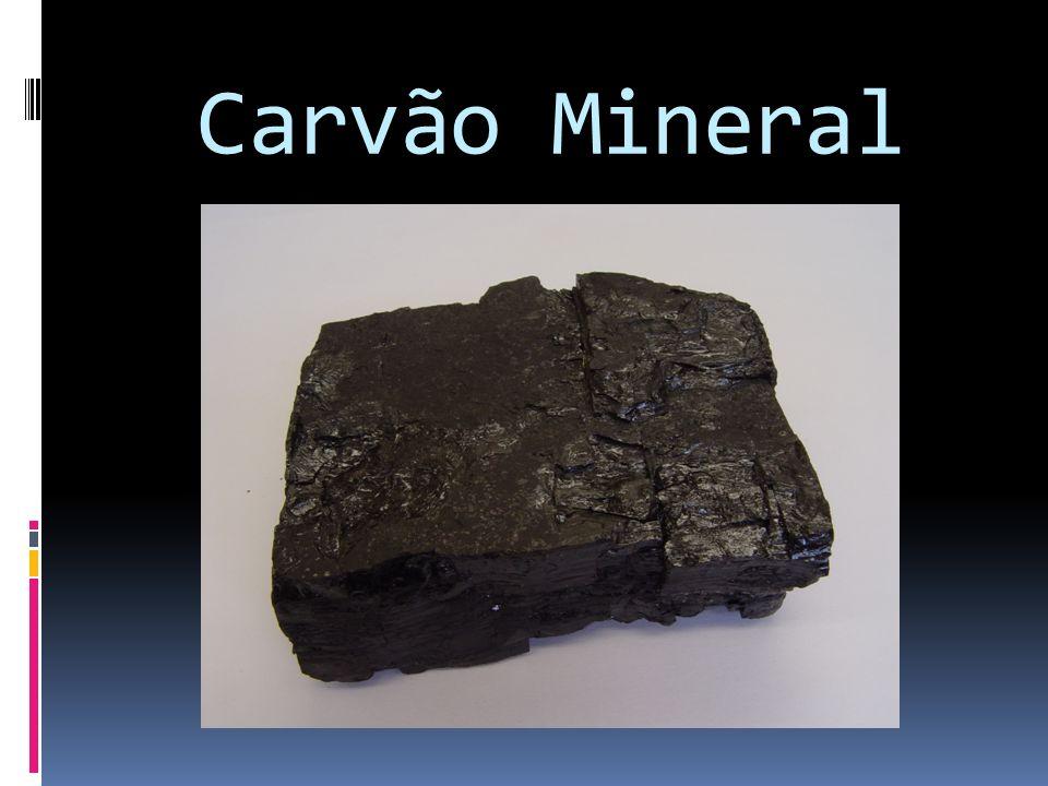 Carvão Mineral: o que é.