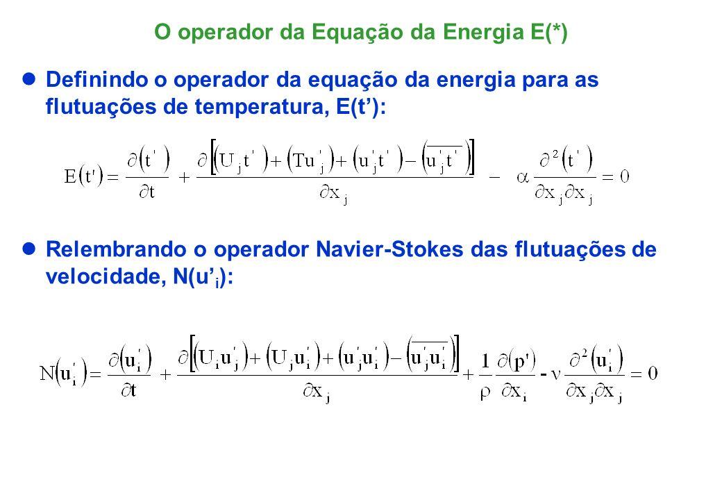 Equação de Transporte do Fluxo de Calor Turbulento O fluxo de calor turbulento q, é transportado pelo campo médio.
